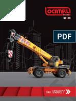 ERKE Group, Locatelli Gril 8500T Şehir içi Mobil Vinçler Kataloğu