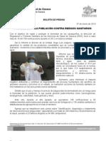 07/01/13 Germán Tenorio Vasconcelos PROTEGE SSO A LA POBLACIÓN CONTRA RIESGOS SANITARIOS