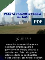 Plantas Electric As de Gas