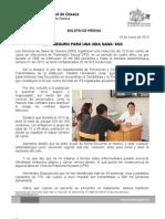 10/01/13 Germán Tenorio Vasconcelos sexo Seguro Para Una Vida Sana, Sso