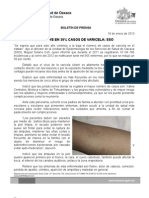 18/01/13 Germán Tenorio Vasconcelos Disminuye en Un 30% Casos de Varicela, Sso