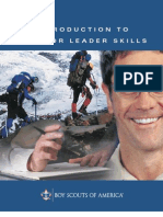 Introduction Outdoor Leader Skills