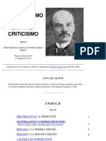 Lenin, V.I. - Materialismo y Empiriocriticismo