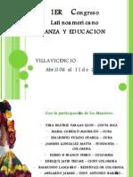 Congreso Danza y Educacion