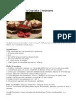 Aprenda a Fazer o Cupcake Chocotone