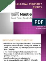 Nestle IPR by prateek
