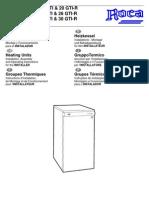 6 Manual Instrucciones Gavina Gt-gti-r Instalador 1999