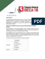 BECA 18 - Descripcion Final UPeU