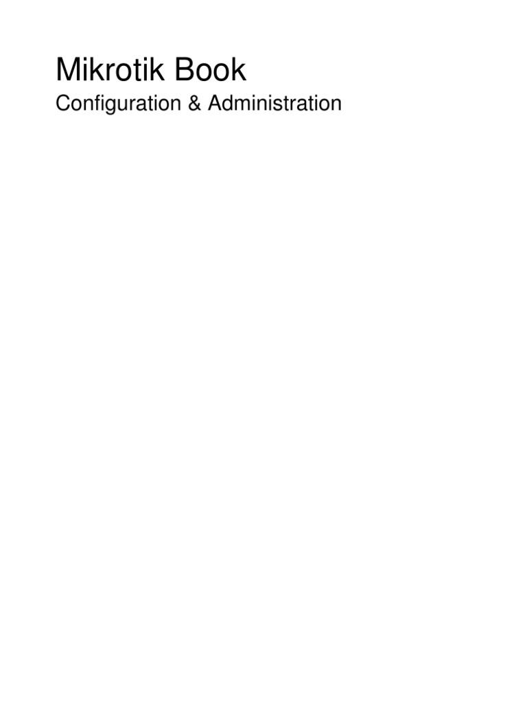 Mikrotik Manual | Proxy Server | I Pv6