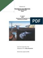 RESISTÊNCIA DOS MATERIAIS - Apostila Engª Produção