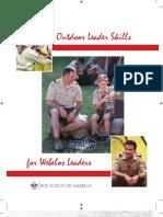 Outdoor Webelos Leaders Skills