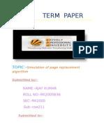 Page Simulation