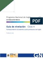 Guía de nivelación. Ciclo 4 - Leveling Guide. Cycle 4
