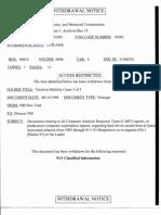 T5 B35 K Moore Terrorist Mobility 3 of 3 Fdr- 2 Withdrawal Notice and Redacted FBI 302 John O-Neill Usama Bin Laden Sudan Harkut Ul Jihad