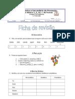 5. revisões de aspectos elementares do 5.º