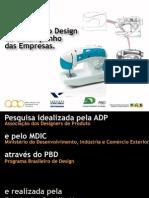 Pesquisa Consolidada Adp Design Setores Produtivos