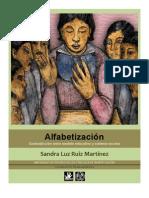 Sandra Luz Ruiz Martínez. Alfabetización