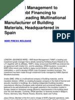 KKR Asset Management to Provide Debt Financing to Uralita, A Leading Multinational Manufacturer of Building Materials, Headquartered in Spain