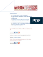 CWA Newsletter, May 2, 2013
