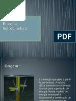 Energia hidrocinética