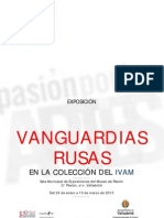 Dossier Informativo Las Vanguardias Rusas