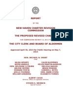 Proposed New Haven Charter- May 2