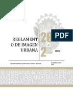 Reglamento Imagen Urbana 2013