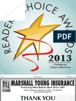 2013 Readers Choice