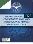 Pentagon North Korea Report