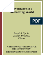 Joseph S. Nye Governance in a Globalizing World