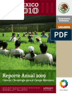 Reporte Anual2009