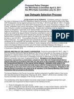 2012 Arkansas GOP Delegate Selection Rules