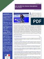 Le Point Sur Le Forum Mondial Des Femmes Francophones