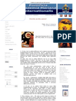 Pontificia Accademia Mariana Internazionale - Perchè un dio uomo