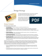 Design Strategy for New Product Development