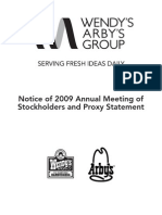 Notice of 2009 Annual Meeting & Proxy Statement