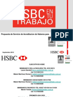Beneficios Techint HSBC