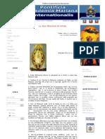 Pontificia Accademia Mariana Internazionale - Le Due Filiazioni Di Cristo
