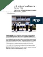 01-05-2013 Puebla Noticias - Las Acciones de Gobierno Benefician a La Sociedad