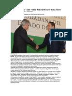 01-05-2013 SDP noticias - Resalta Moreno Valle visión democrática de Peña Nieto