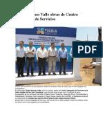 02-05-2013 SDP Noticias - Inicia Moreno Valle Obras de Centro Integrador de Servicios