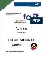 Apuntes de Organizacion Actualizados
