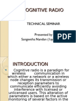 Cognitive Radio presentation
