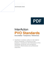 PVO Standards March 2, 2013