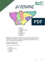 Monografía de Baja Verapaz de Josué Ortiz 12+