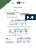 Ejercicios Indices