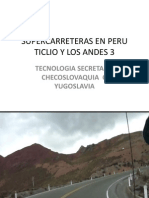Supercarreteras Ticlio Peru 3