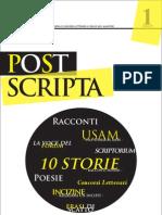 Rivista Letteraria Post Scripta n 1 - Magazine di Narrativa, Poesia e Concorsi Letterari a Cura di Edizioni Aliantide