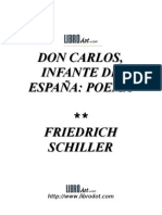 Schiller - Don Carlos Infante De España