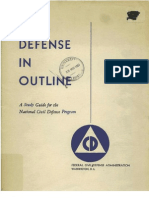 Civil Defense Study Guide (1951)